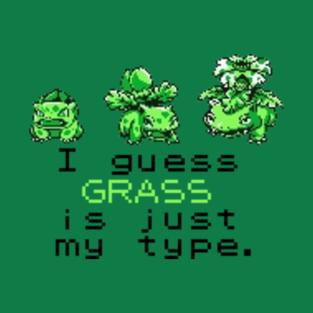 Pokemon - Grass type t-shirts