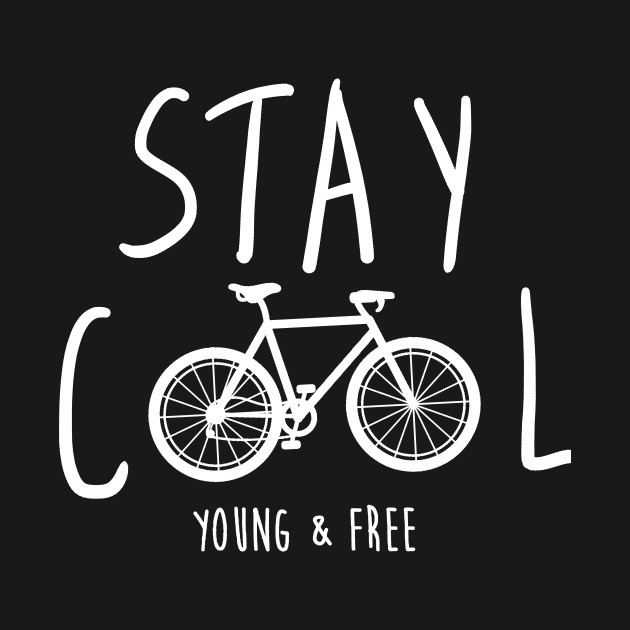 Stay Cool World Bicycle Day Bike Lover Tshirt Mountain Bike