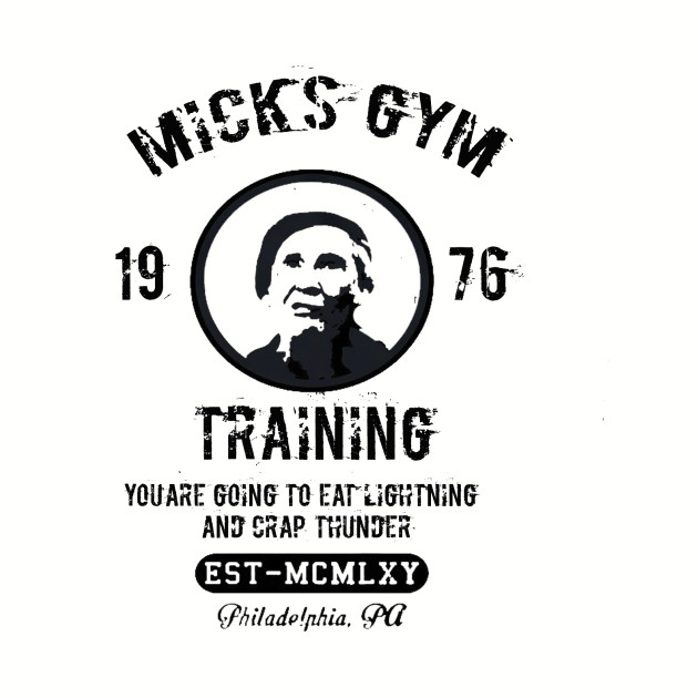 Mick's Gym Rocky Balboa