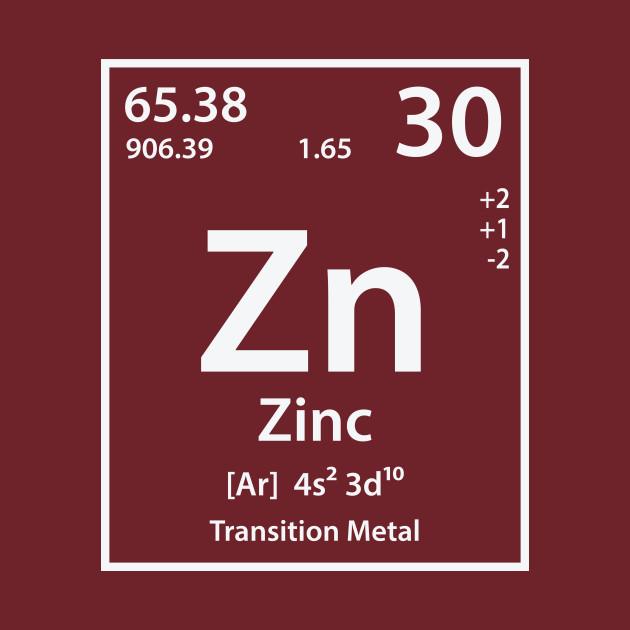 Zinc Element Zinc T Shirt Teepublic