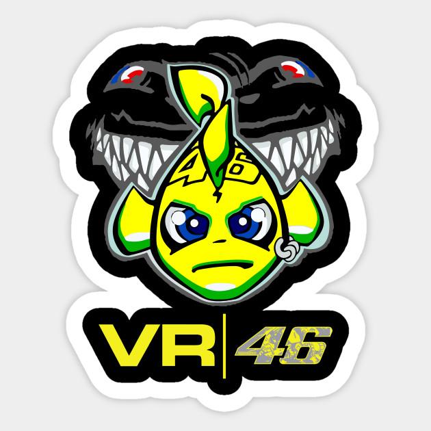 Valentino Rossi Sticker Satu Sticker