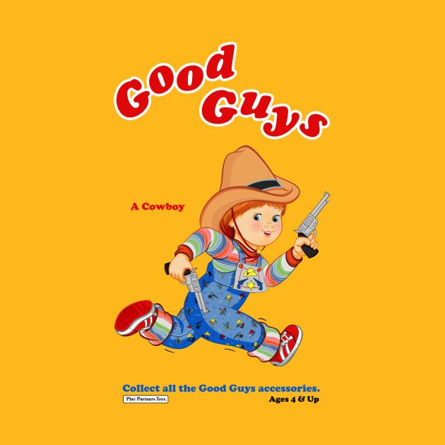 8c0e02c47 Good Guys - Cowboy - Child's Play - Chucky - Chucky - T-Shirt ...