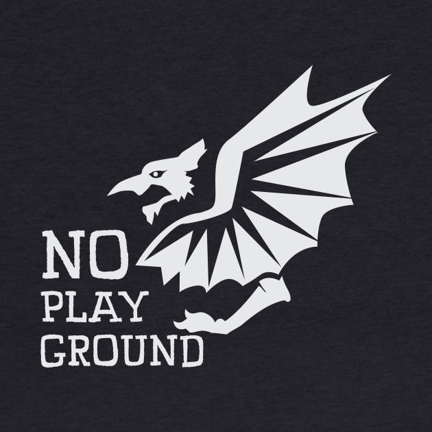 No Playground Devil Dragon Creature