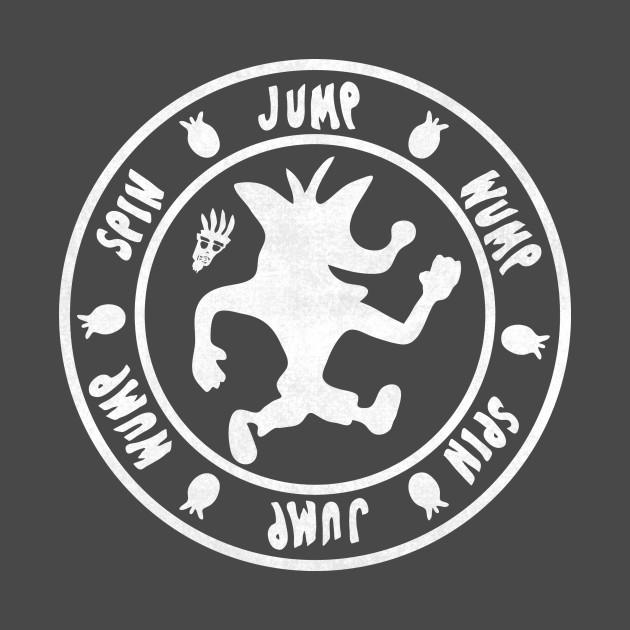 Spin, Jump, Wump, White