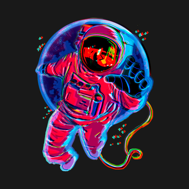 Trippy astronaut tumblr