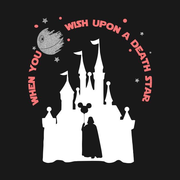 dd9a08fcf When you wish upon a death star - Mickey - T-Shirt | TeePublic