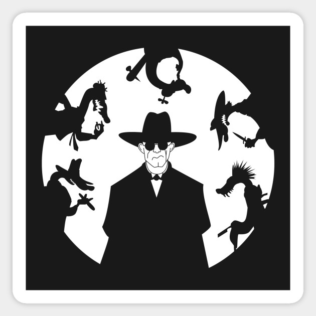 Judge Doom & Weasels - Who Framed Roger Rabbit - Sticker | TeePublic