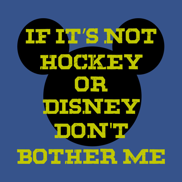 If it's not hockey or Disney, don't bother!