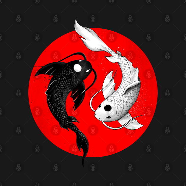 Japanese Koi Fish Vision
