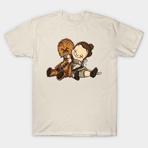 Rey And Chewie Star Wars T Shirt Teepublic