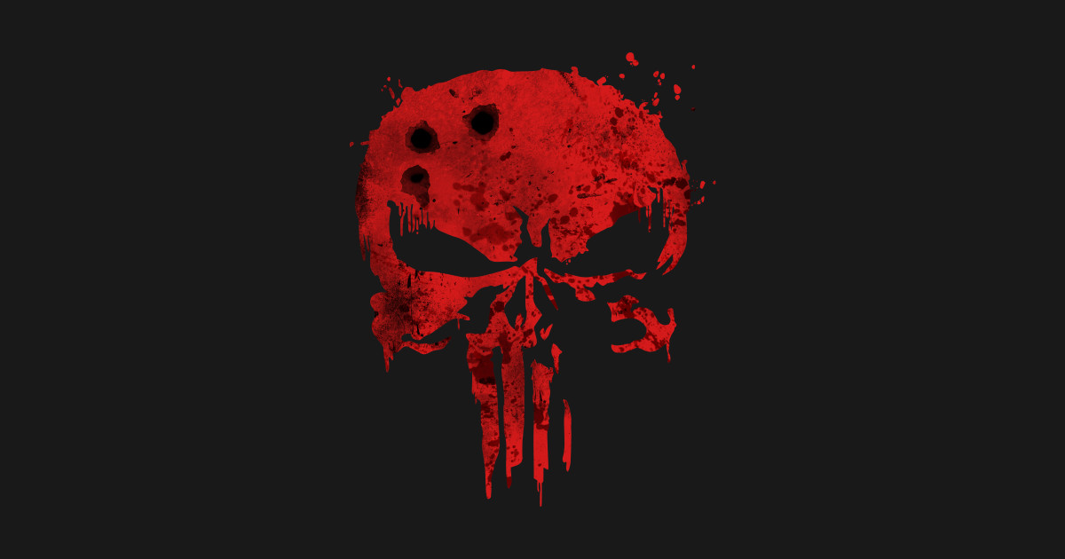 The Punisher - Bloody Skull - Netflix Version - Punisher ...