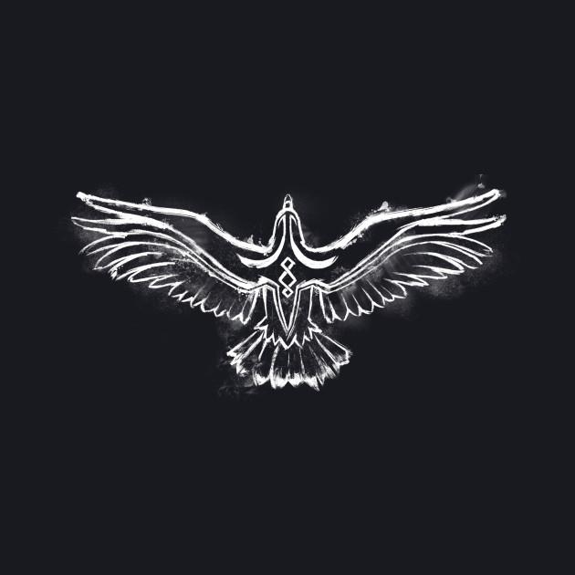 White Raven Logo