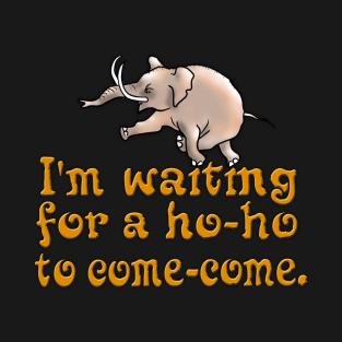 Waiting For a Ho-ho t-shirts
