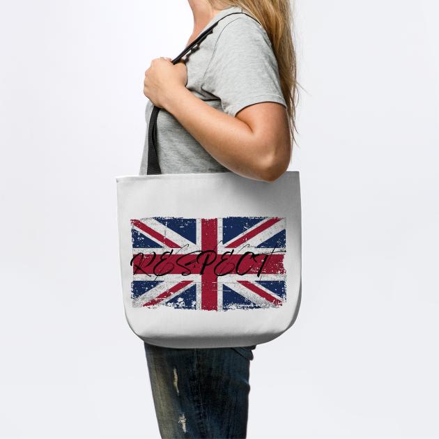 Respect UK British Flag Worn