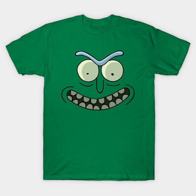 Rick and Morty: Pickle Rick Face by danharmonsucks