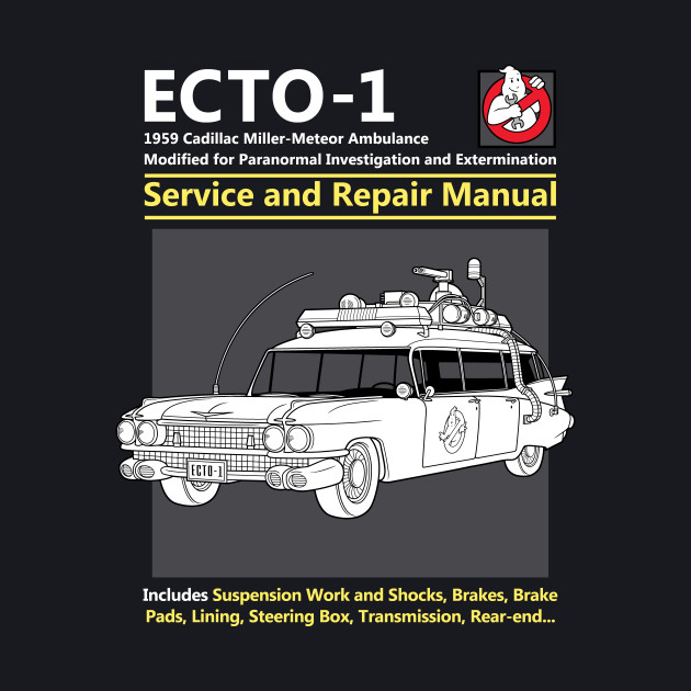 ECTO-1 Service and Repair Manual
