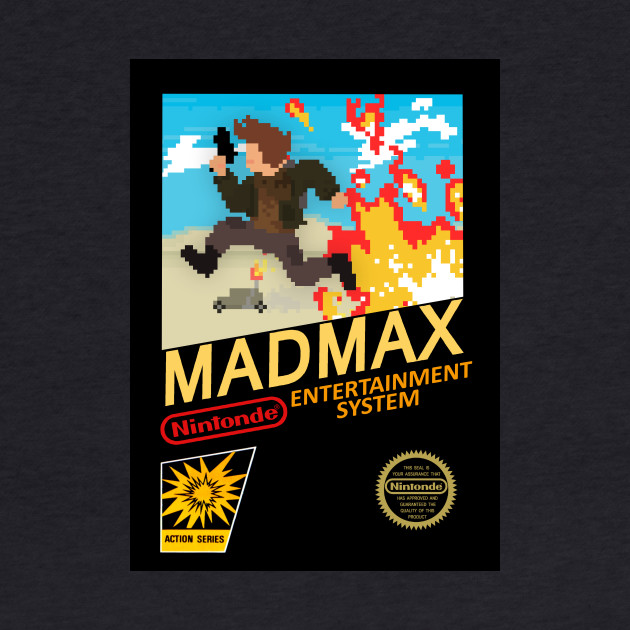 MAD MAX Nintendo Entertainment System