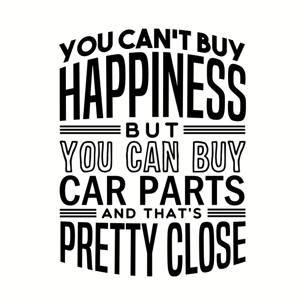 Happiness is car parts
