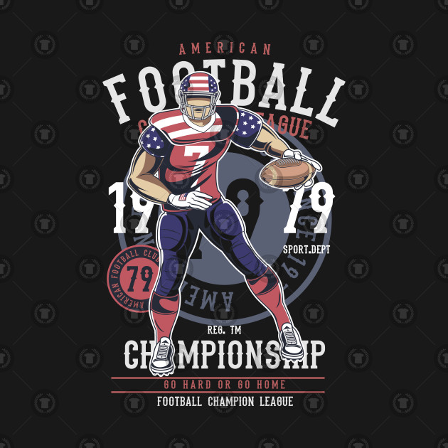 FOOTBALL T-SHIRT American Football Player