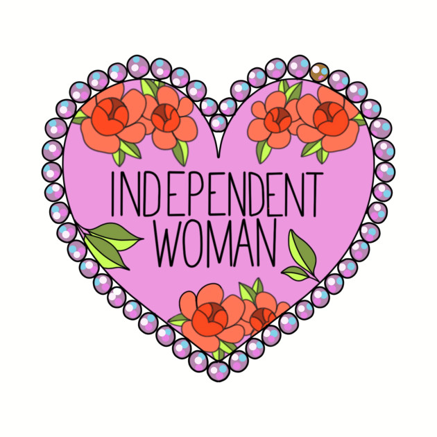 Independent Woman Feminist Shirt