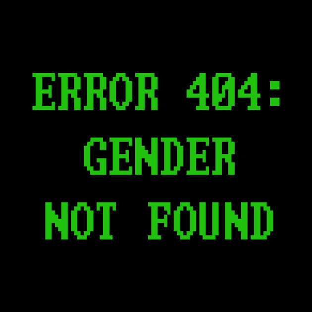 Gender Not Found