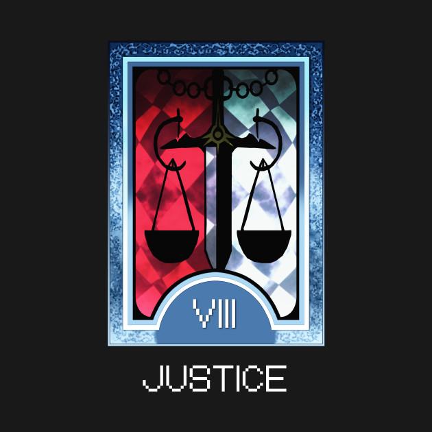 Justice Arcana Tarot Card
