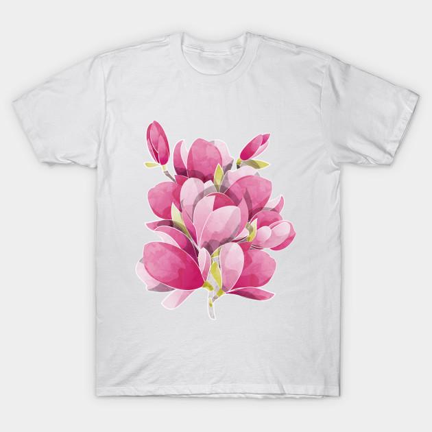 Magnolia Spring Bloom Magnolia T Shirt Teepublic