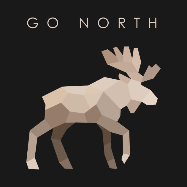 Go North - Elk (dark)