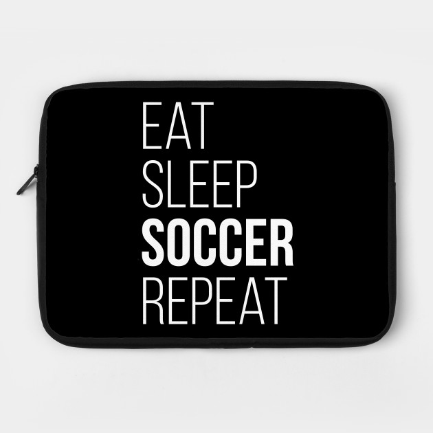 Eat Sleep Soccer Repeat T-Shirt Funny Gift