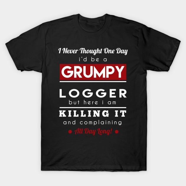 034505671f Items similar to Funny Offensive Lumberjack T-Shirt Morning Wood Loggers  Shirt Hilarious Gift Idea Shirts on Etsy