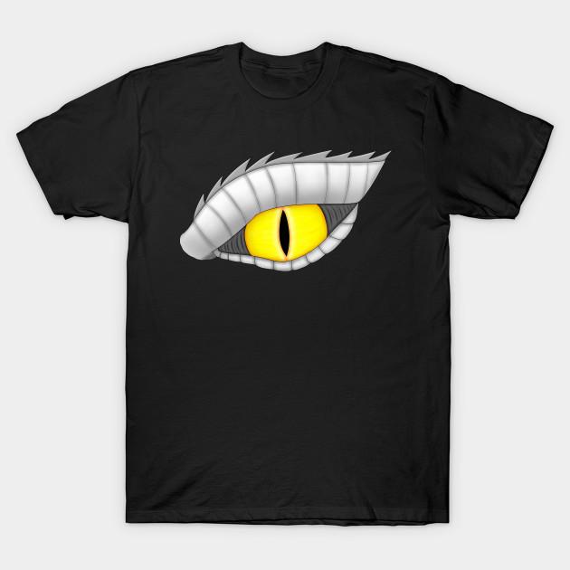 Dragons Eyes Greyyellow Dragon T Shirt Teepublic