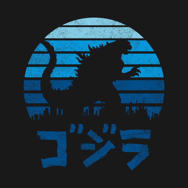 Kaiju Sun Set T-Shirt