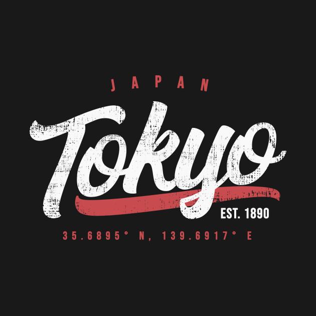 Tokyo Japan Vintage Retro