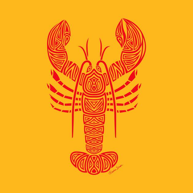 Tribal Maine Lobster - Maine Lobsters - T-Shirt | TeePublic