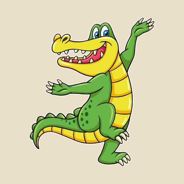 Dancing crocodile cartoon character - Crocodile Cartoon ... - photo#10