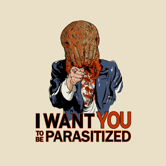 Parasitized.