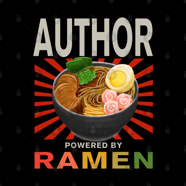 Author Gifts - Ramen Noodle Lover - Powered by Ramen