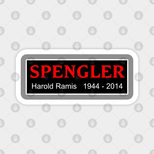 Ghostbusters Egon Spengler / Harold Ramis Memorial