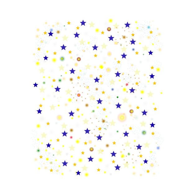 Starry Night Sky - Planet & Star Kaleidoscope