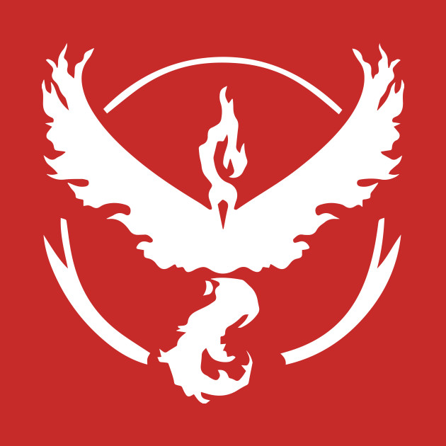 Pokemon Go - Team Valor Symbol T-Shirt