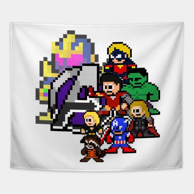 Marvel Avengers Endgame Pixel Art