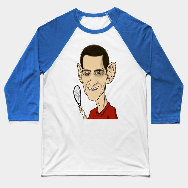 Novak Djokovic Novak Djokovic Baseball T Shirt Teepublic