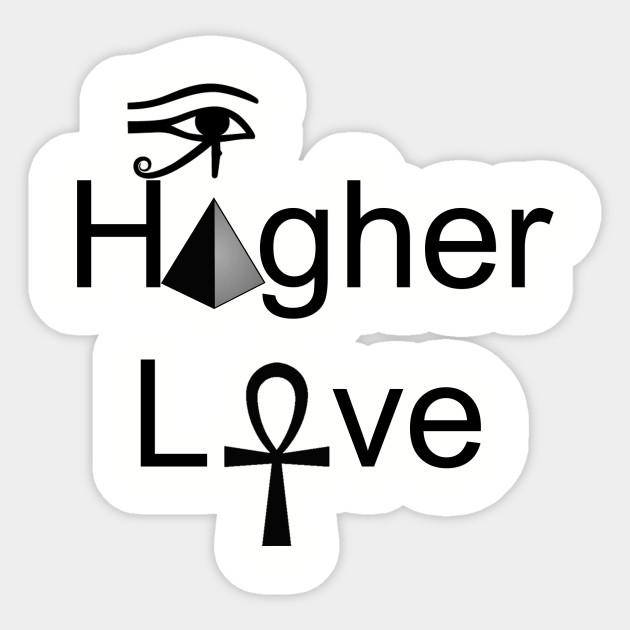 Ancient Egyptian Kemet Design Higher Love Ancient Egyptian