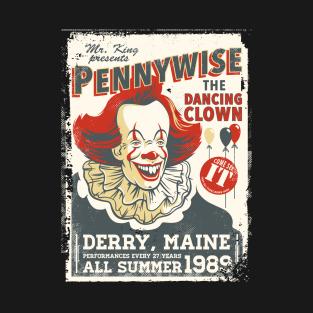ca3ed73fe The Dancing Clown - Stephen King T-Shirt