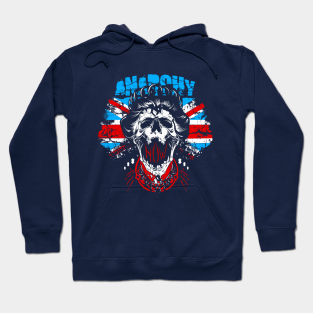 Disobey Mens Hoodie Police State Anarchy