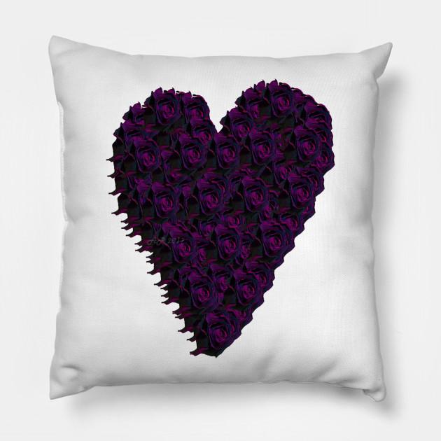 Purple Rose Heart
