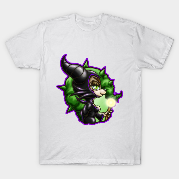 Chibi Lizzy Malefient T-Shirt-TOZ
