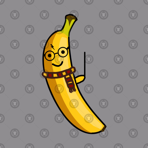 7d9b8c075 Cute Harry Potter Banana - Harry Potter Graphic - T-Shirt | TeePublic