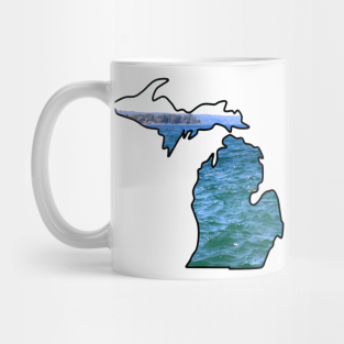 Michigan made in the mitten mug
