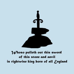 Sword in the Stone t-shirts